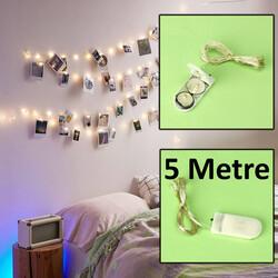 5 Metre Kendinden Pilli Peri Led Gün Işığı (kr60115) - Thumbnail