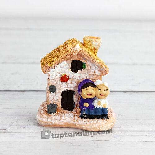 Büyük Boy Yaşlı Çiftler Ev Teraryum Obje (kr3001)