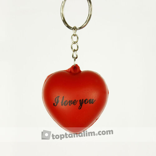 I Love You Kalp Stres Topu Anahtarlık 12'li Paket (kr1132)_Kopya(1)