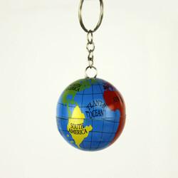 Metal Dünya Anahtarlık 12'li Paket (kr1133) - Thumbnail