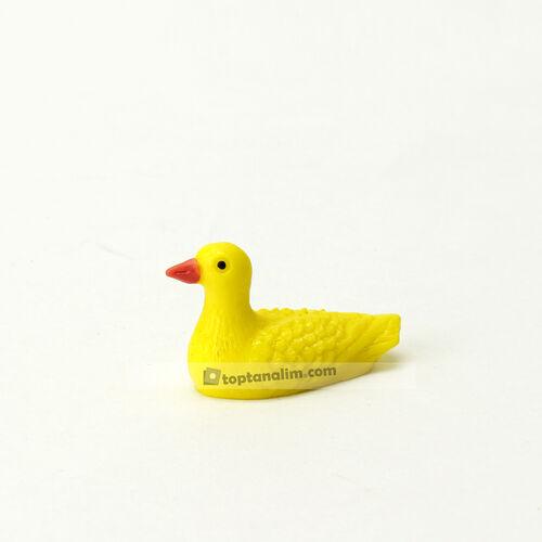 Mini Sarı Ördek Teraryum Obje (kr3181)