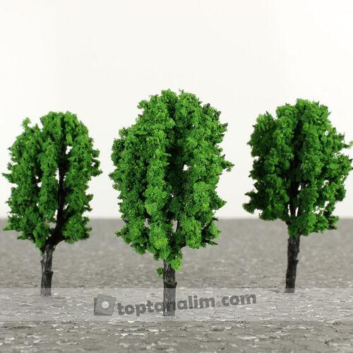 Orta Boy Yeşil Teraryum Ağaç Obje (kr3059)