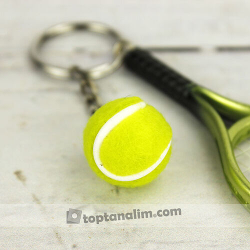 Tenis Raket Anahtarlık 12'lipaket (kr1008)