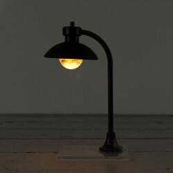 Siyah Abajur Sokak Lambası Teraryum Obje (kr3052) - Thumbnail
