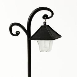 Siyah Nostaljik Dekoratif Sokak Lambası Teraryum Obje (kr3148) - Thumbnail