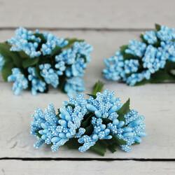 Tomurcuk Çiçek Mavi 120'li Paket (kr6032) - Thumbnail