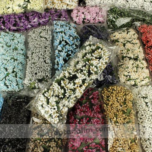 Tomurcuk Çiçek Mavi 120'li Paket (kr6032)