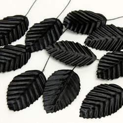 Yapay Yaprak Siyah 144'lü Paket (kr60121) - Thumbnail