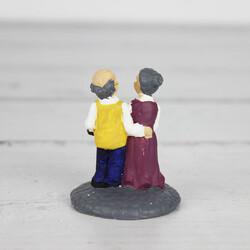 Yaşlı Çiftler Teraryum Obje (kr3015) - Thumbnail