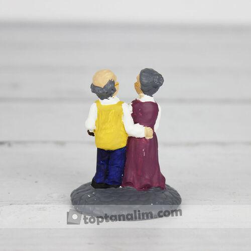 Yaşlı Çiftler Teraryum Obje (kr3015)