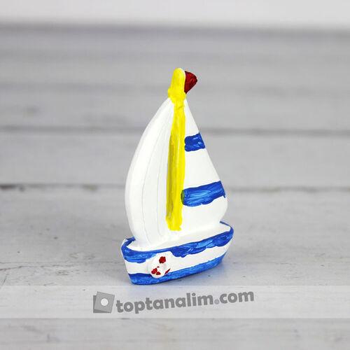 Yelkenli Gemi Teraryum Obje (kr3016)